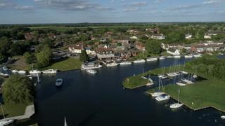 Horning on the Broads