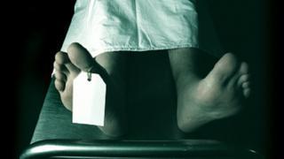 Imagen de archivo de un cadáver en la morgue
