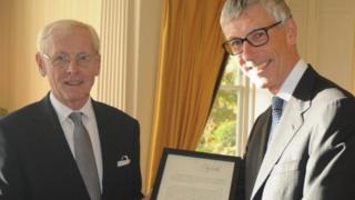Sir Richard Gozney and Jeremy Storey QC