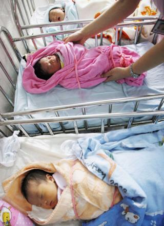 Five numbers that sum up China's one-child policy