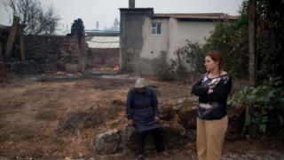В октябре 2017 года от огня лесных пожаров в Португалии погибло более 30 человек
