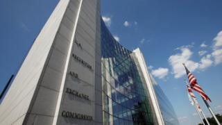 The SEC headquarters in Washington DC