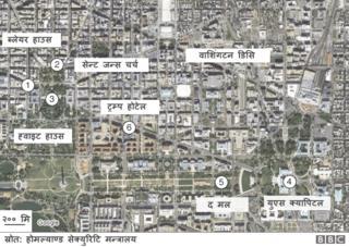 शपथग्रहणको मार्गचित्र