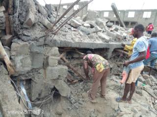 Di building wey collapse