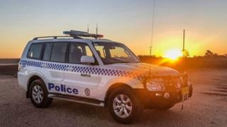 New South Wales Police car