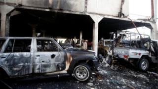 دمار وخراب في اليمن