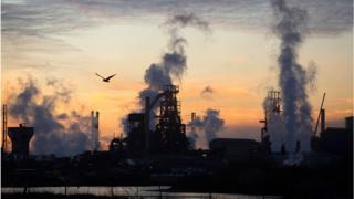 Image of Port Talbot plant