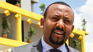 Abiy Ahmed yabaye Minisitiri w'intebe wa Ethiopia nyuma yaho uwo yasimbuye yeguye ku butegetsi uyu mwaka