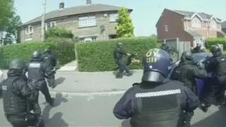 Drug raids