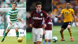 Celtic, Aston Villa and Wolverhampton Wanderers