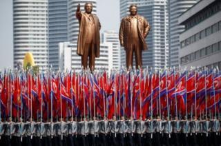 Isabukuru y' imyaka 105 y'amavuko ya KIm Il Sung