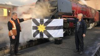 Sutherland's new flag