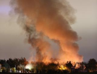Ansell Garden Centre fire