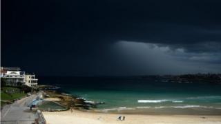 Storm clouds of Sydney, Australia (file image)