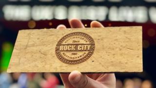 Rock City floor piece