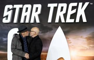 in_pictures Actors Patrick Stewart and Ian McKellen attend the premiere of Star Trek: Picard in London