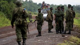 Des soldats de l'armée congolaise à Goma en 2008. (Illustration)