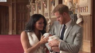 Гаррі та Меган показали дитину