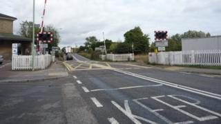 Darsham level crossing