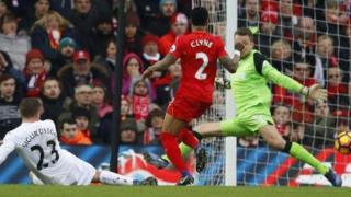 Liverpool da Swansea
