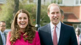 The Duchess and Duke of Cambridge