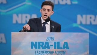 Kyle Kashuv has become a pro-gun activist since the attack on his Florida high school