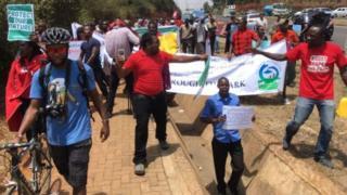 Kenya, manifestation