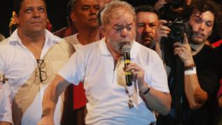 L'ex Président Brésilien Inacio Lula