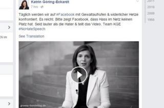 Goering-Eckardt/Facebook - screen shot