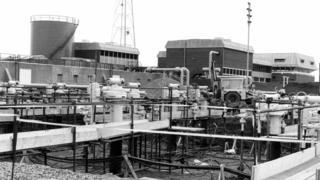 Bacton gas terminal in Norfolk.