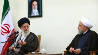 حسن روحانی و آیتالله خامنهای