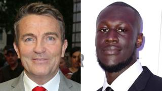 Bradley Walsh and Stormzy