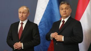 Виктор Орбан, Владимир Путин