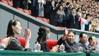 Kim Yo Jong and Kim Jong-un