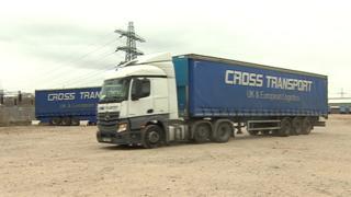Cross Transport lorries