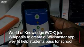 Wikimaster: Di new way African student fit learn