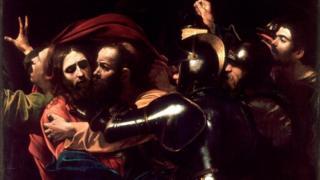 دستگیری مسیح اثر کاراواجو، ۱۶۰۲