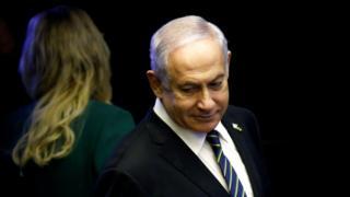 Umushikiranganji wa mbere wa Isiraheli, Benjamin Netanyahu, mu muhango wo kurahiza umukuru w'igihugu wa Brezil, itariki 01/01/2019
