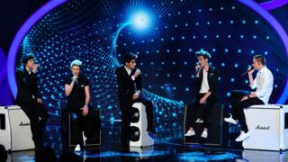1D performing at Children In Need 2013