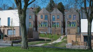 Timber-framed homes in Walsall