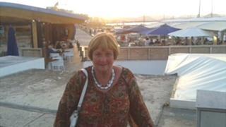 Irene Robson, from Peebles