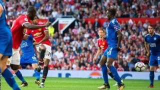 Man United yailaza Leicester na kusalia kileleni mwa ligi