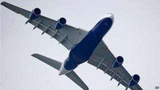 British Airways A380 in June 2013