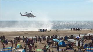 Camber Sands rescue