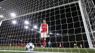 """гол в ворота """"Арсенала"""""""