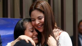El Salvador woman cleared over baby's death says 'justice was done'