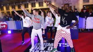 Dermot Dances for Comic Relief