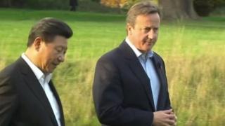 Cameron a Xi Jinping