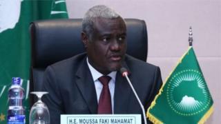 Le président de la Commission de l'Union africaine, Moussa Faki Mahamat
