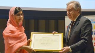 ملالہ یوسف زئی